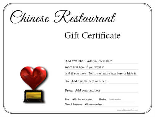 chinese restaurant gift certificate style1 default template image-54 downloadable and printable with editable fields