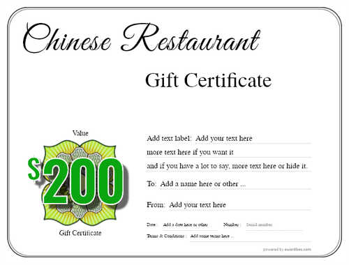 chinese restaurant gift certificate style1 default template image-56 downloadable and printable with editable fields