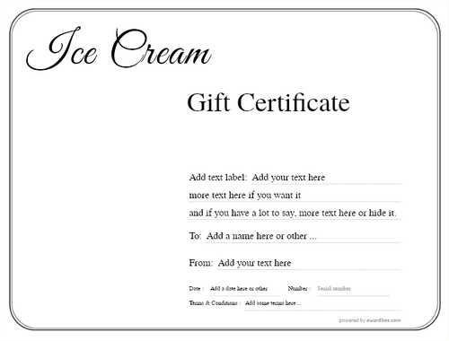 ice cream   gift certificate style1 default template image-237 downloadable and printable with editable fields