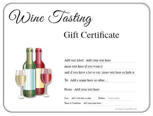 wine tasting gift certificate style1 default template image-262 downloadable and printable with editable fields