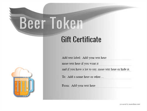 beer    gift certificate style7 default template image-196 downloadable and printable with editable fields