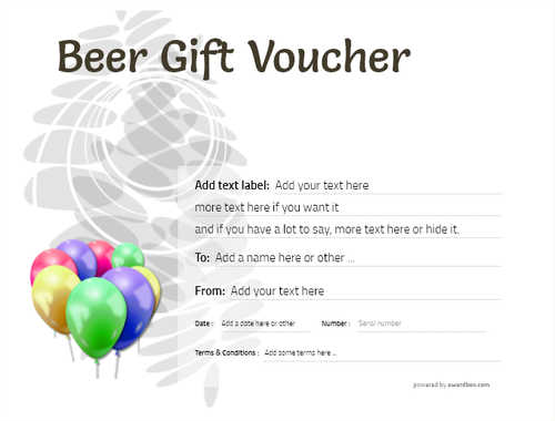 beer    gift certificate style9 default template image-206 downloadable and printable with editable fields
