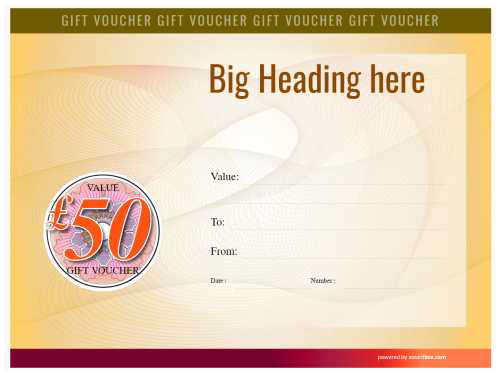 blank voucher with fillable text for printing or download on a spirally watermarked background in yelo free commercial use